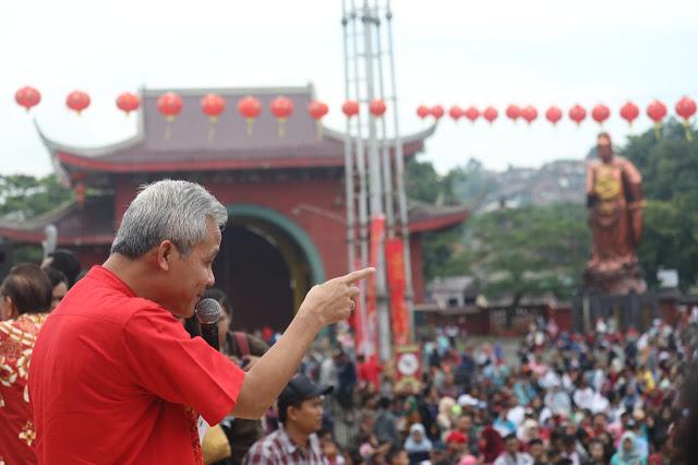 Ganjar Minta PNS Jawa Tengah Mundur Jika Jadi Simpatisan Khilafah
