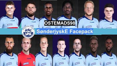 PES 2021 Facepack SønderjyskE Fodbold by Ostemads98