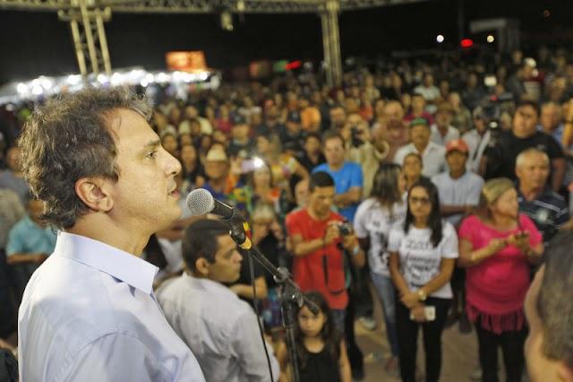 Estado entrega sistemas de abastecimento d'água e libera recursos para pavimentação em Guaraciaba do Norte