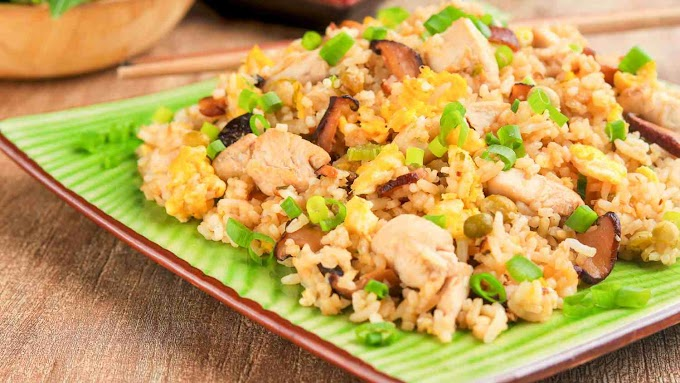 Easy Chicken Fried Rice Recipe at home