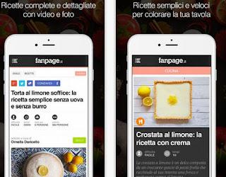 app cucina fanpage