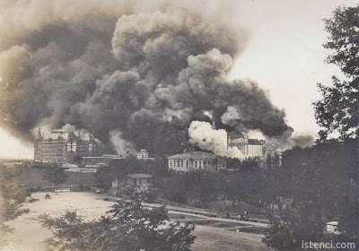 Bir demir yolu hikayesi; Haydarpaşa Garı: 1917 yangını kaza mı? Sabotaj mı?