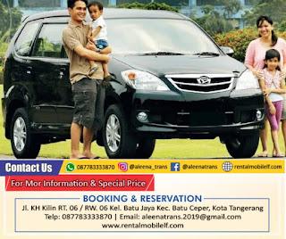 Sewa Mobil Avanza Tangerang