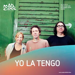 YO LA TENGO MAD COOL FESTIVAL 2018