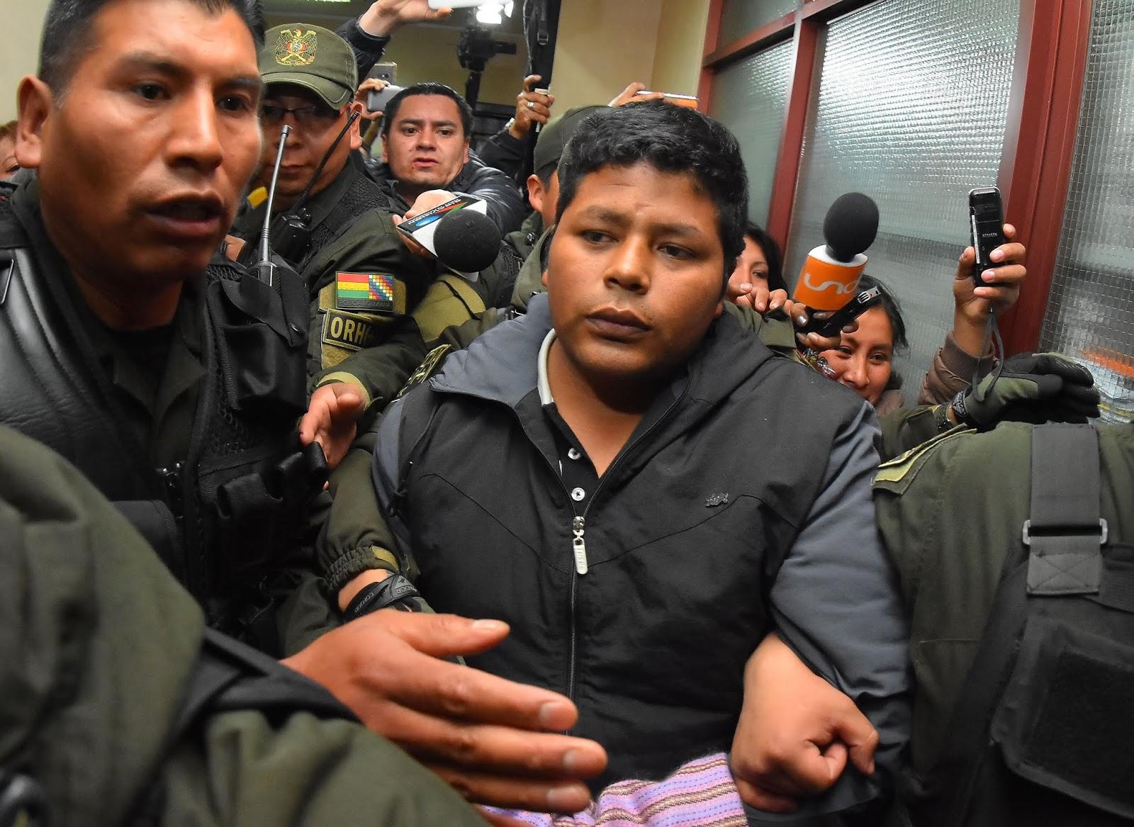 Gutiérrez fue aprehendido y luego detenido en San Pedro el 27 de agosto de 2018 / ARCHIVO APG / FIDES