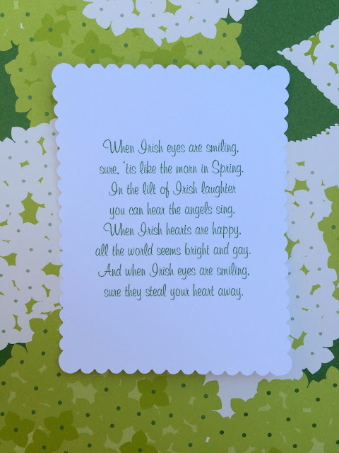 When Irish Eyes are Smiling - Fun St. Patrick's Day Gifts with printable card- www.jacolynmurphy.com