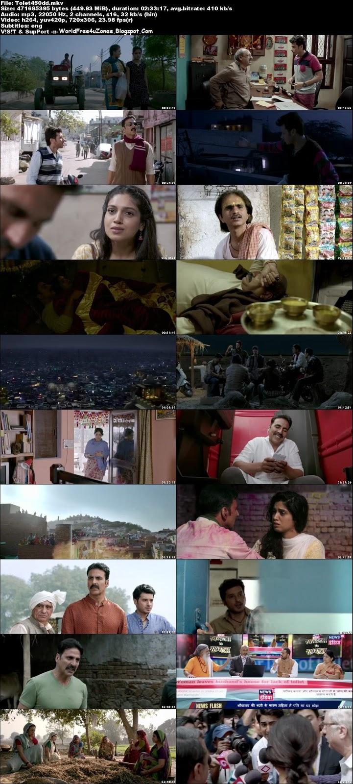 Toilet Ek Prem Katha (2017) Hindi DVDRip 480p 450MB Full Movie Free Download And Watch Online Latest Bollywood Hindi Movies 2017 Free At WorldFree4uZonee.Blogspot.Com