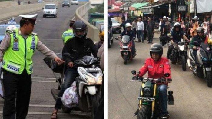 Ditilang karena Lampu Motor Tak Nyala, Mahasiswa: Kenapa Jokowi Tidak Ditilang?