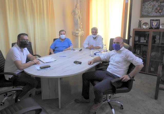 Ο Σύνδεσμος Εφέδρων Αξιωματικών Αργολίδας συναντήθηκε με τον Δήμαρχο Επιδαύρου