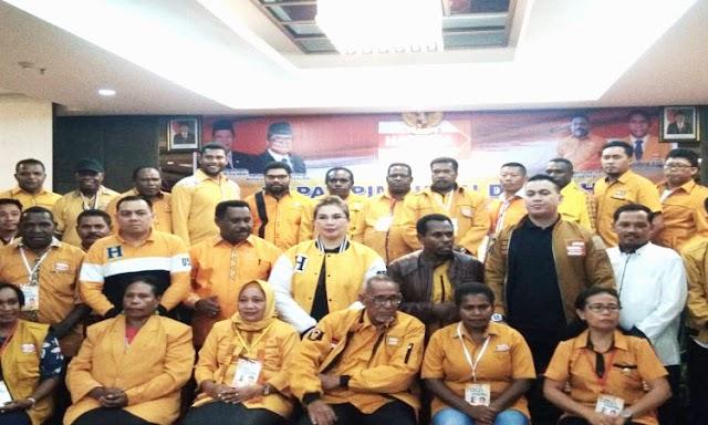 DPD Papua Barat Dukung Penuh OSO Nahkodai Ketua Umum DPP Hanura