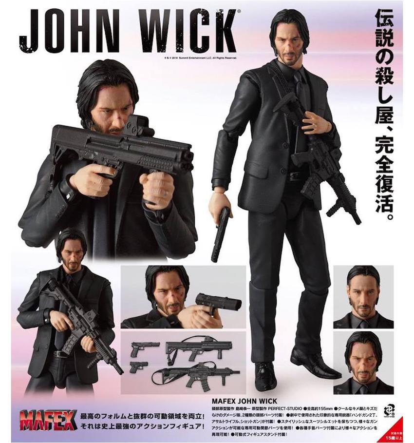Hitman In The Palm Of Your Hands Mafex John Wick For A Jan 2019 Release