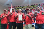 Ali Harjono Gultom Resmi Nakhodai DPC Pemuda Batak Bersatu Kab, Bekasi