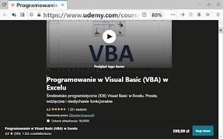 Programowanie w Visual Basic w MS Excel