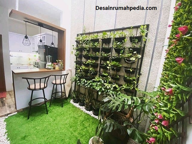 6 Desain Taman Belakang Rumah Type 36 Yang Tak Membosankan Desainrumahpedia Com Inspirasi Desain Rumah Minimalis Modern
