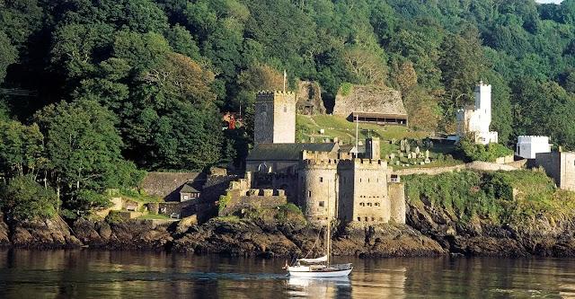 Dartmouth Castle devon england