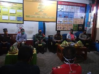 Kapolres Pelabuhan Gencar Tatap Muka Ajak Warga Pakai Masker, Disiplin 3 M + 1T