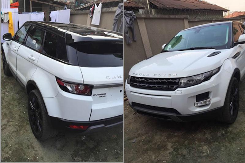 Malaika buys himself N30million Range Rover Evoque