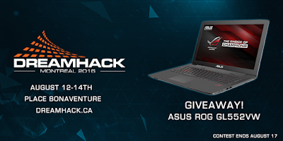 Enter the ASUS ROG Laptop Giveaway. Ends 8/17