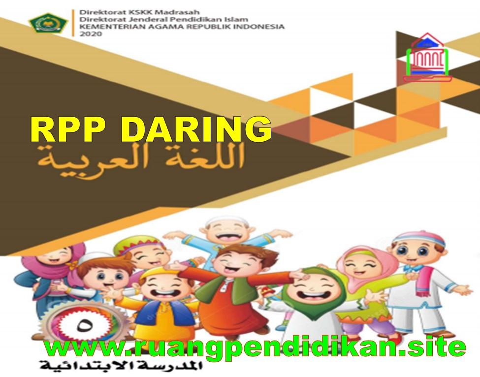 RPP Daring Bahasa Arab Kelas 5 SD/MI