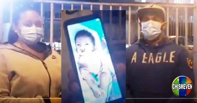 Pareja Venezolana denuncia que le cambiaron al bebé recién nacido por un inca muy feo en Perú