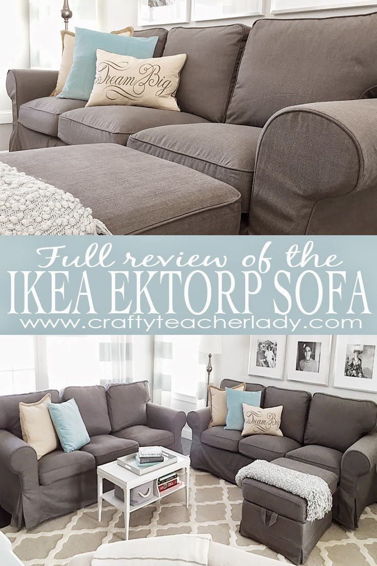 Ektorp Sofa From Ikea Crafty Teacher Lady Review Of The Ikea Ektorp Sofa Series