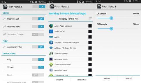 Cara Aktifkan Led Depan Android Jadi Notifikasi