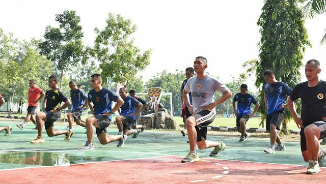 Endurance Run, Bentuk Postur Tubuh Prajurit Armed 12 Kostrad