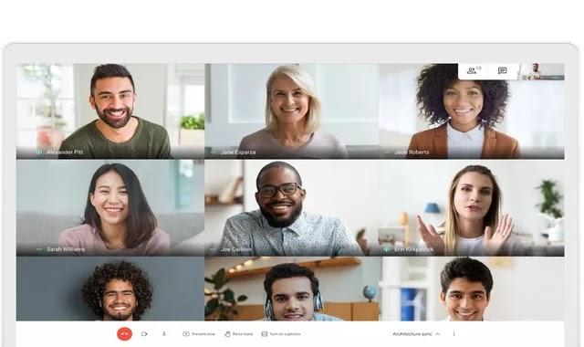 Unlimited Google Meet calls run through June