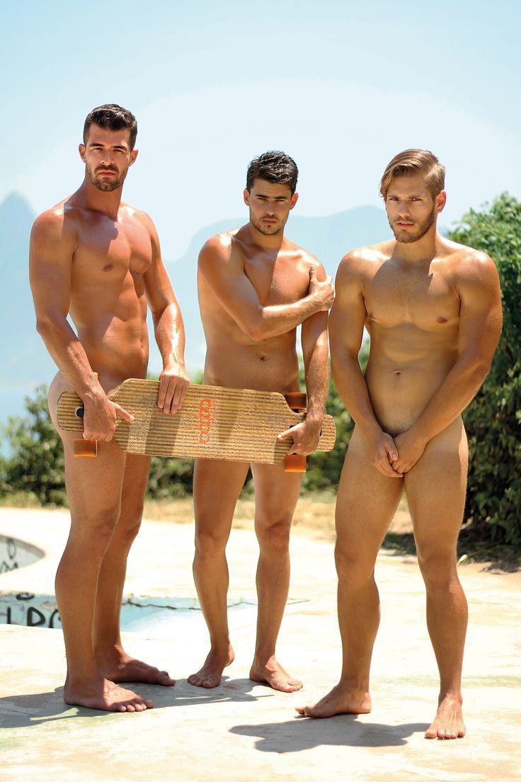 Almost nude male models-3708