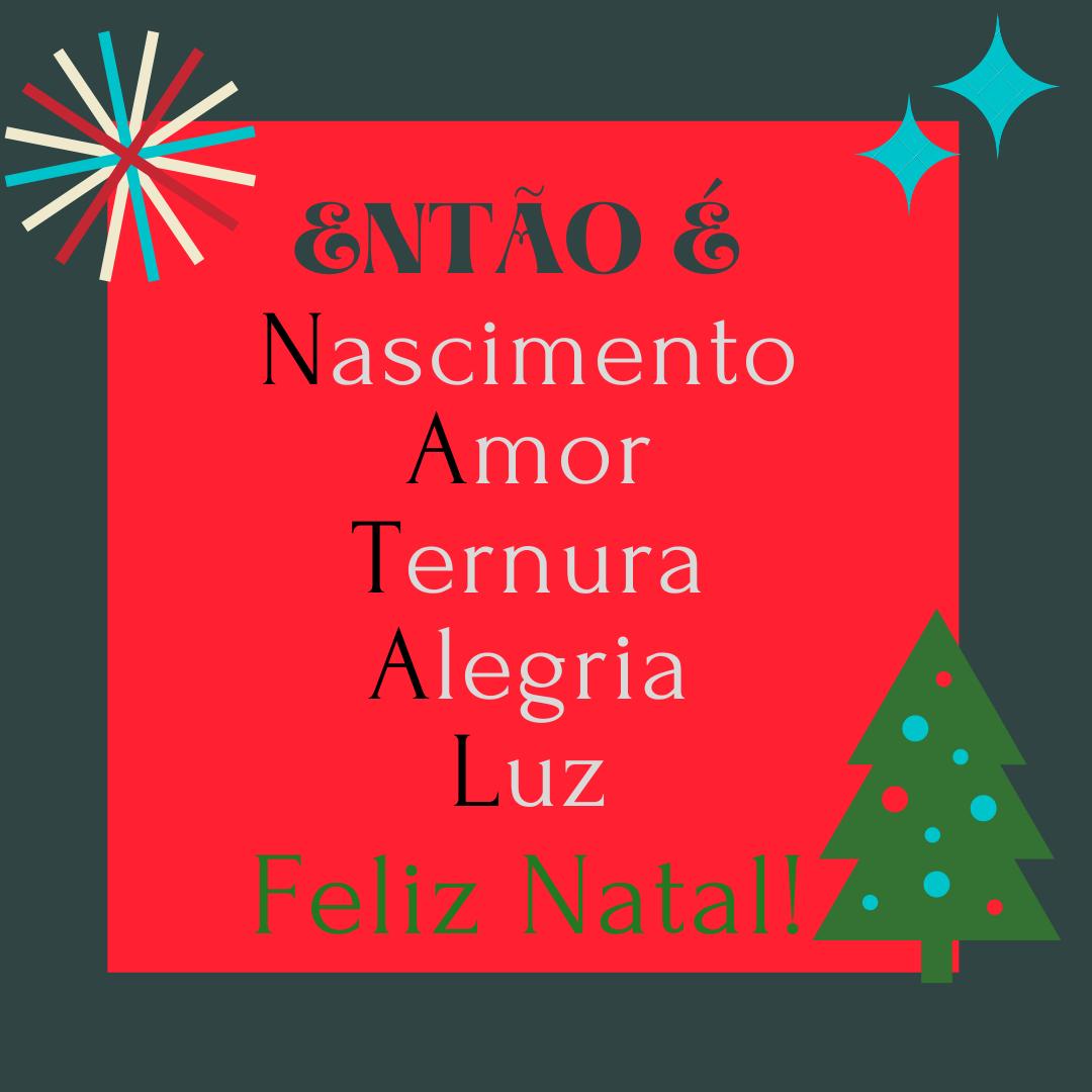 mensagem feliz natal