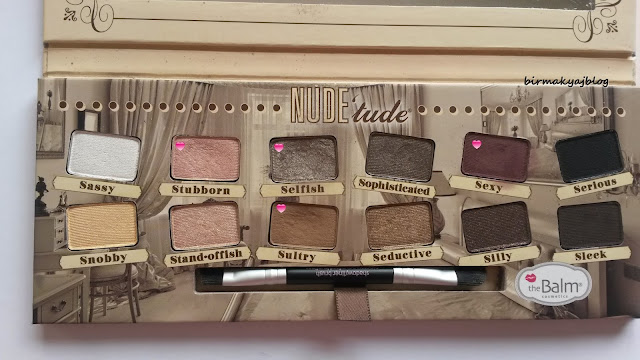 The Balm Dosyası 7 # The Balm - Nude Tude Far Paleti