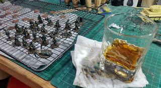 Whisky and hobbying time