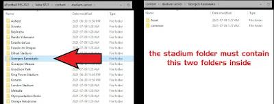 add stadium folder