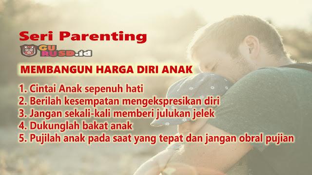 Seri Parenting: Membangun Harga Diri Anak