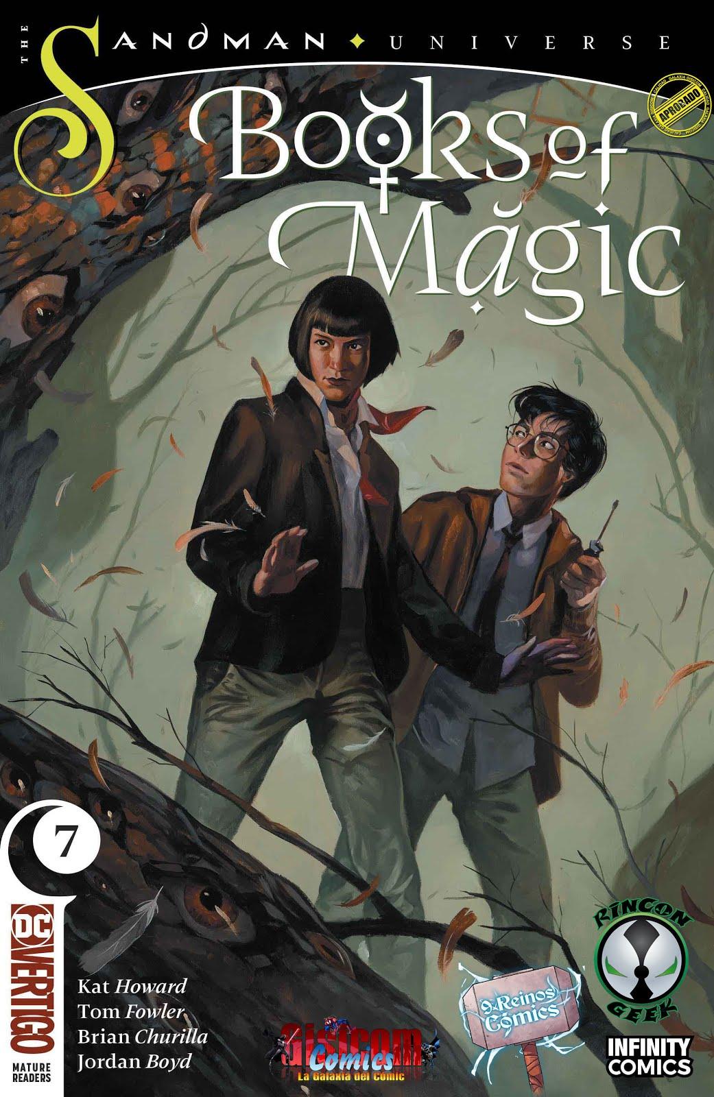 Actualización 19/05/2019: Continua la magia de la mano de Spector, The Geek 8 y Mastergel para 9 Reinos Comics y El Rincon del Geek. Números 5, 6 y 7. Tim y Rose emprenden un viaje que los lleva a través del tiempo y el espacio, a la tierra de Faerie. Tim tiene la extraña sensación de que ha estado aquí antes, pero seguro que si hubiera estado en un lugar tan mágico y hermoso, lo recordaría, ¿verdad?