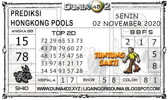 Prediksi Togel HONGKONG DUNIA4D2 02 NOVEMBER 2020