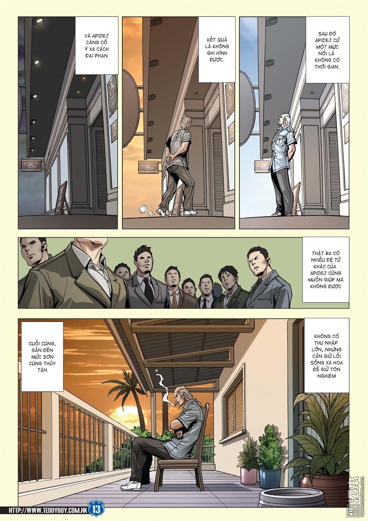 Người Trong Giang Hồ chapter 2026: khí diệm tông sư trang 12