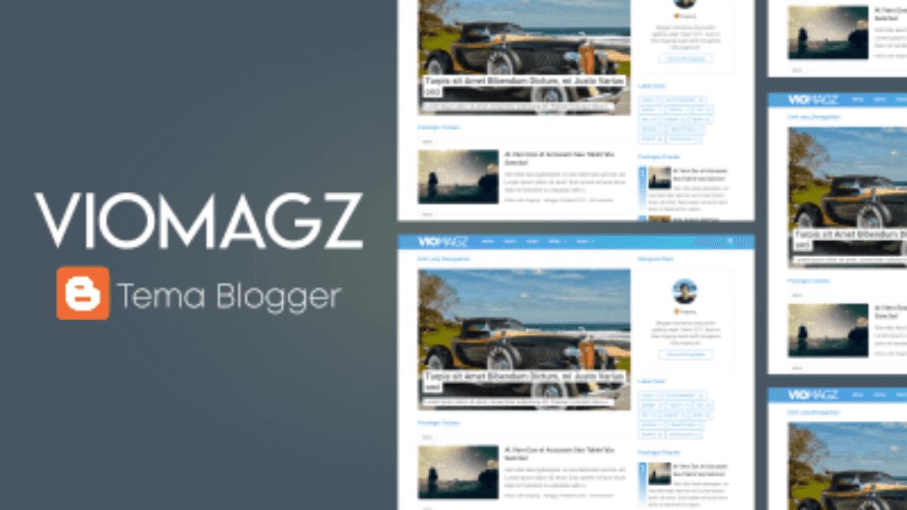 download template VioMagz terbaru gratis