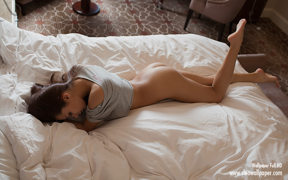 Sexy Woman In Lingerie In Bed Stock Images, Royalty-Free.