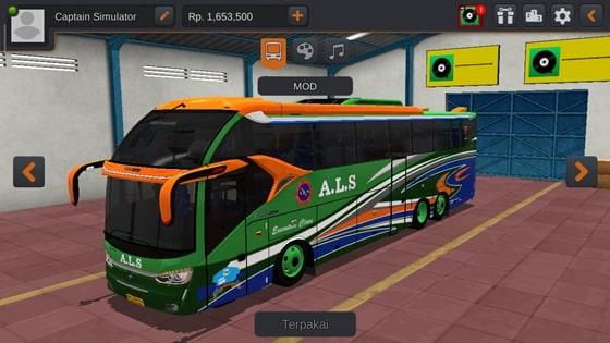 Livery SR2 XHD Scania K410 ALS