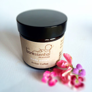 Baressential Organic Body Scrub in Amber Coffee