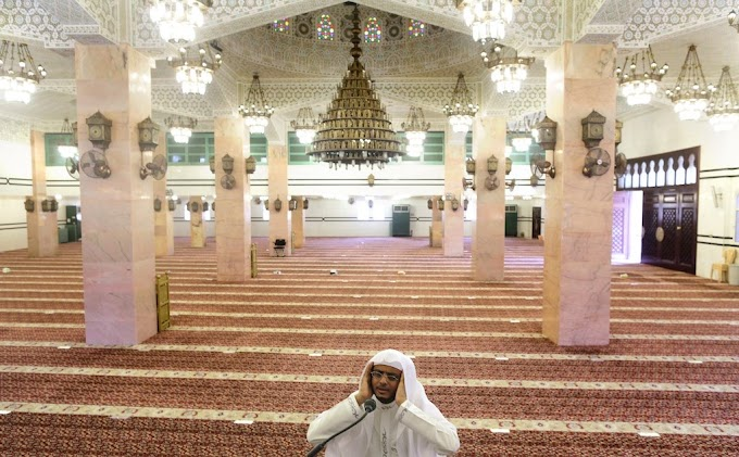 Saudi Arabia reopens Mosques after sterilisation