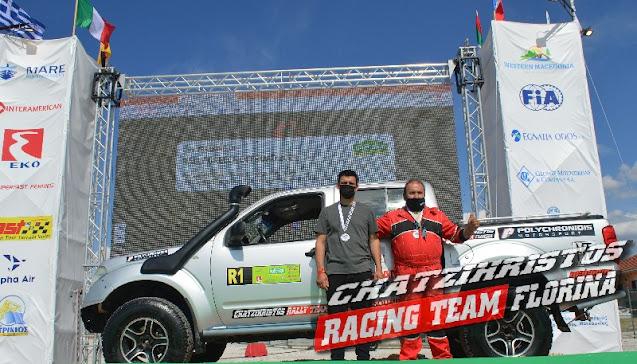 Άλλη μία σημαντική διάκριση για τον μηχανοκίνητο αθλητισμό από τον ΤΑΣΟ ΧΑΤΖΗΧΡΗΣΤΟ στο 8ο Rally Greece Οff-road 2021(VIDEO)