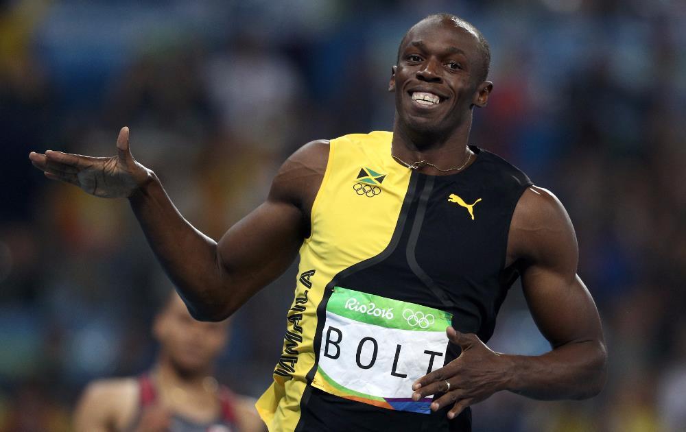Usain Bolt Wins in Rio Olympics