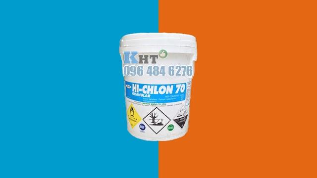 Hóa chất xử lý nước hồ bơi hiệu quả nhất | Bột Chlorine Nippon 70% Nhật