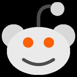 Reddit Logo Folder Icon