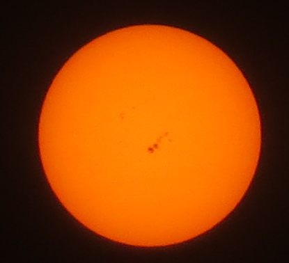 Sunspot AR1967