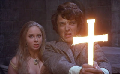 Linda Hayden and Anthony Higgins at the climax of Taste the Blood of Dracula (1970)