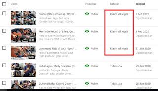 cara cover lagu di youtube agar tidak kena klaim copyright cr