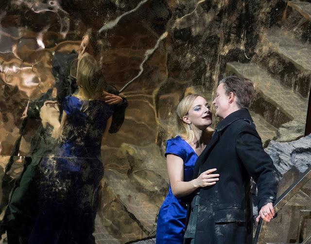 Handel: Giulio Cesare - Lucie Chartin, Maria Sanner - Opera North 2019 (Photo Alastair Muir)